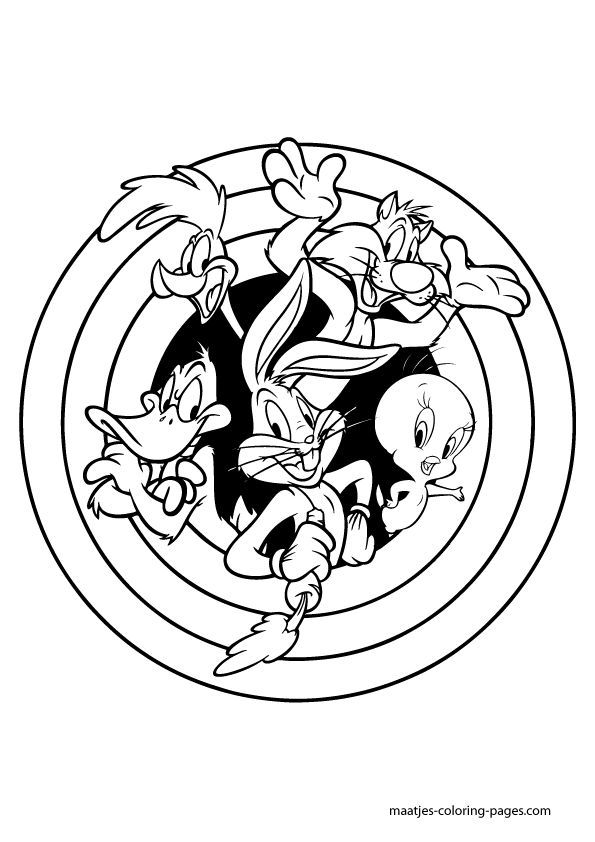 print pretty ba looney tunes s free3260 coloring pages