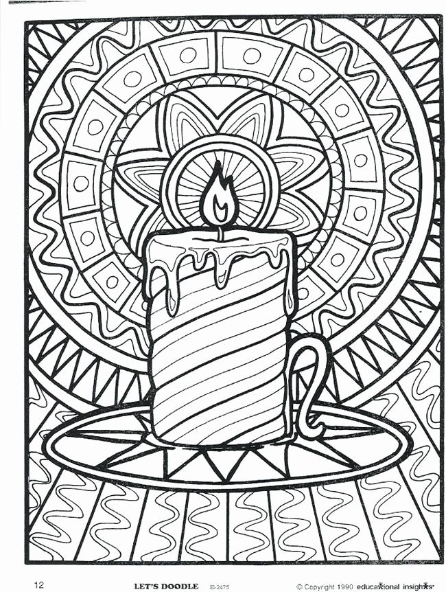 printable christmas candles coloring pages unique coloring