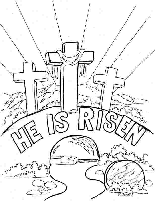 printable coloring pages easter religious huangfei