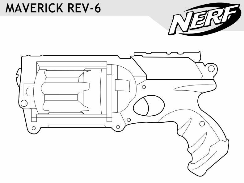 printable coloring pages guns pusat hobi