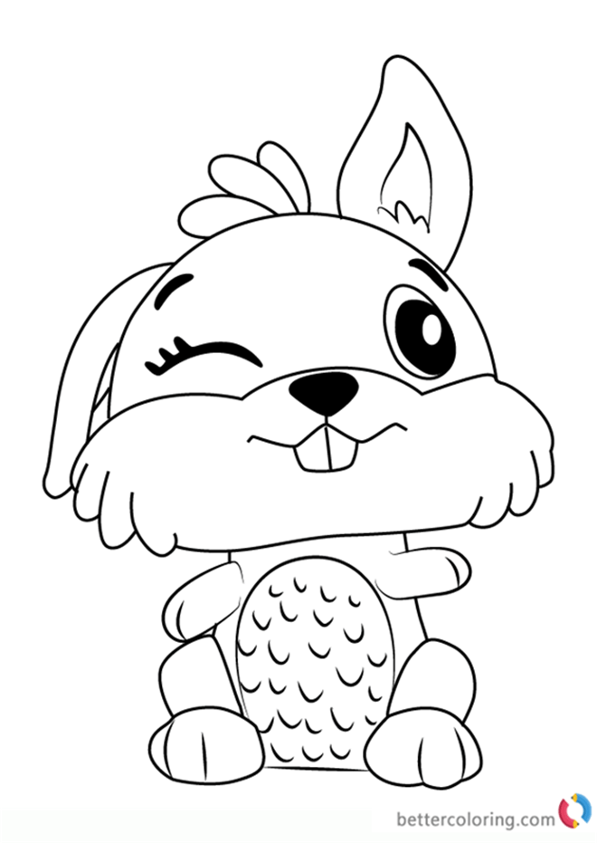 printable coloring pages hatchimals huangfei