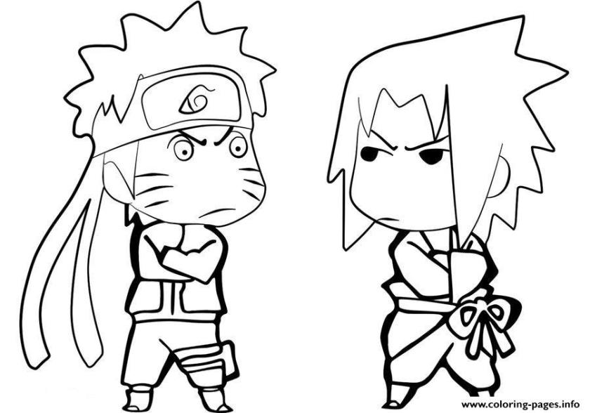 printable coloring pages naruto pusat hobi