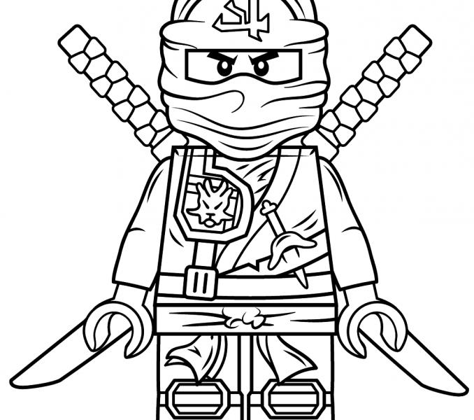 printable coloring pages ninja