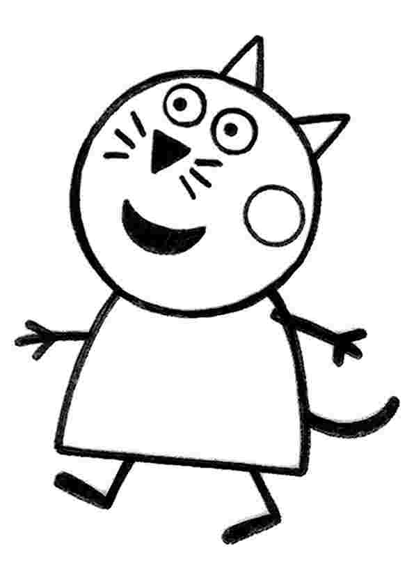 printable coloring pages peppa girls coloring pages print