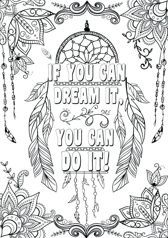 printable coloring pages with inspirational quotes pusat hobi