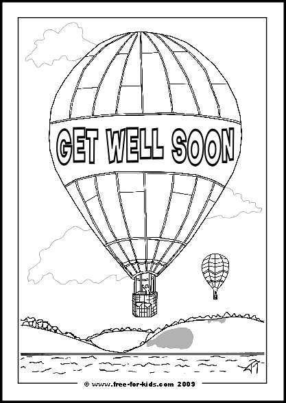 printable get well soon coloring pages