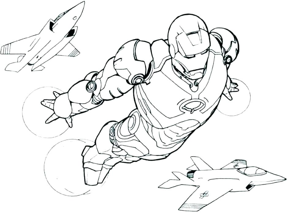 Iron Man Coloring Pages Pictures Whitesbelfast