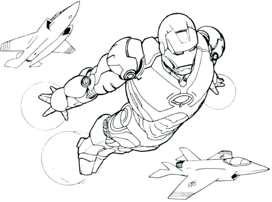 printable ironman coloring pages colouring color diplomiks