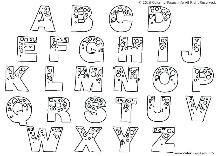 printable letter coloring pages coloring printable alphabet