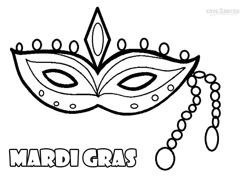printable mardi gras coloring pages for kids cool2bkids
