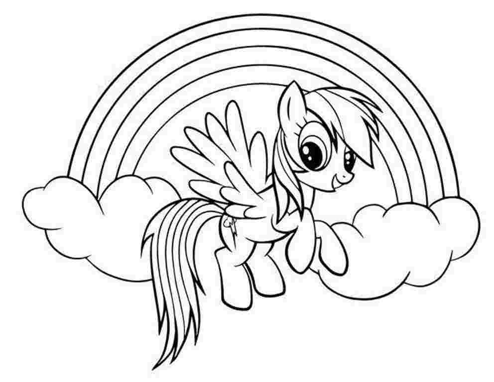Coloring Pages My Little Pony Idea - Whitesbelfast