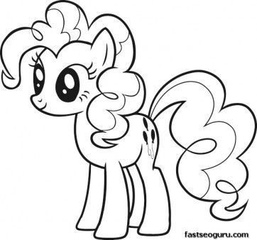 printable my little pony friendship is magic pinkie pie
