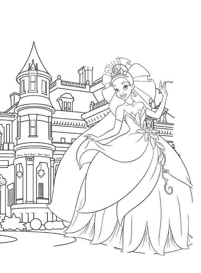printable princess castle coloring pages princess castle