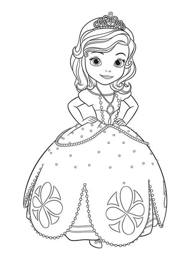 printable princess sofia coloring pages fun for kids