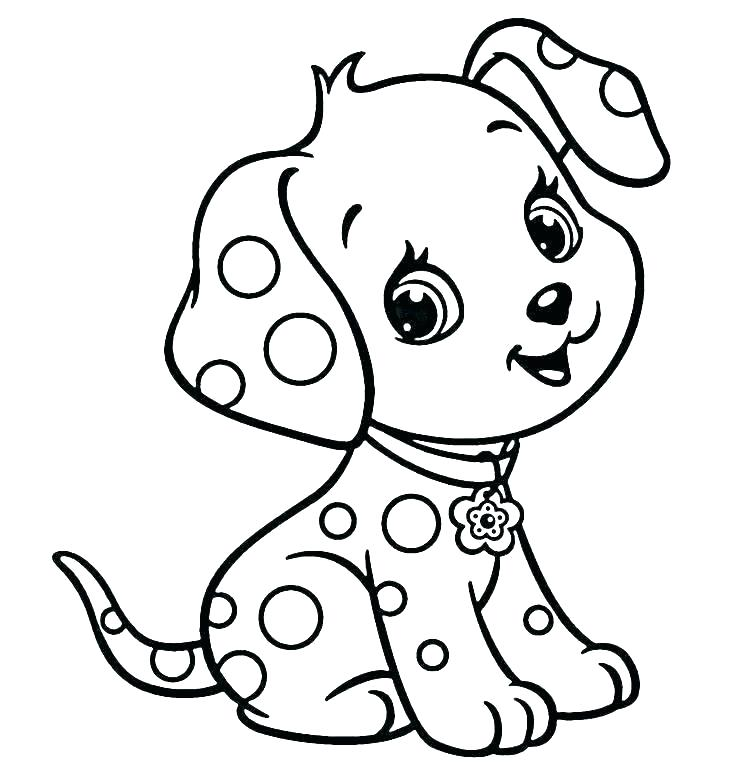 printable puppy coloring pages free dog backspot