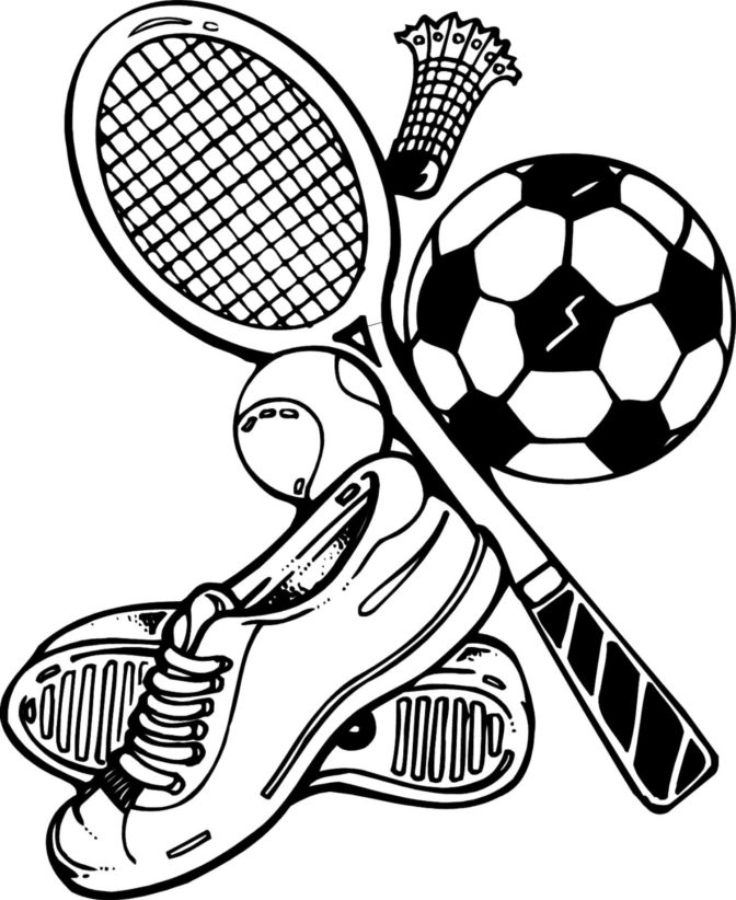 printable sports coloring pages tags 34 sports coloring