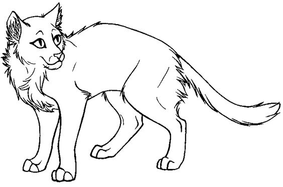 printable warrior cat coloring pages coloringme
