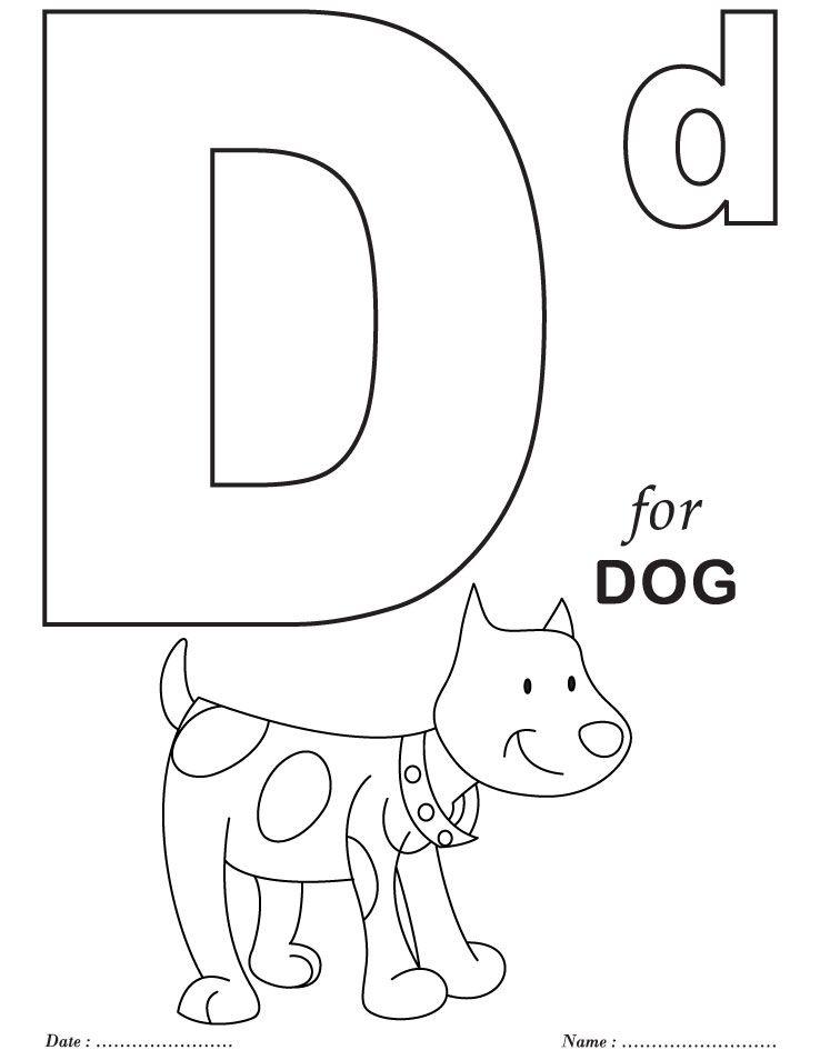 printables alphabet d coloring sheets alphabet coloring