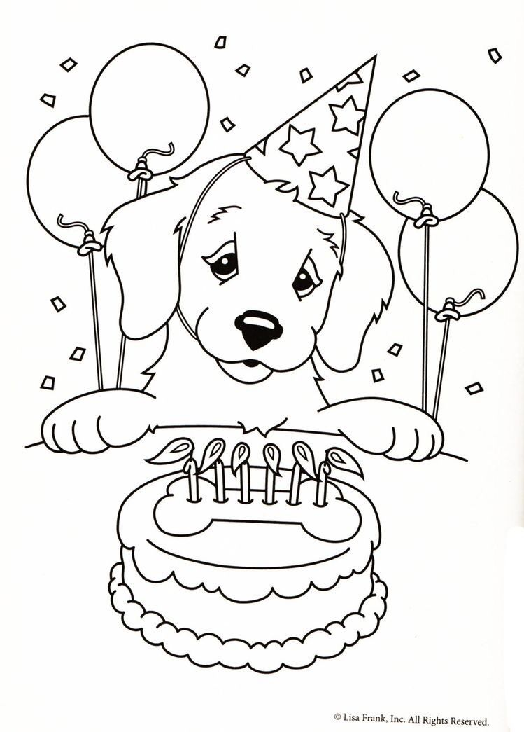 puppy coloring page for kids 2019 boyama sayfalar