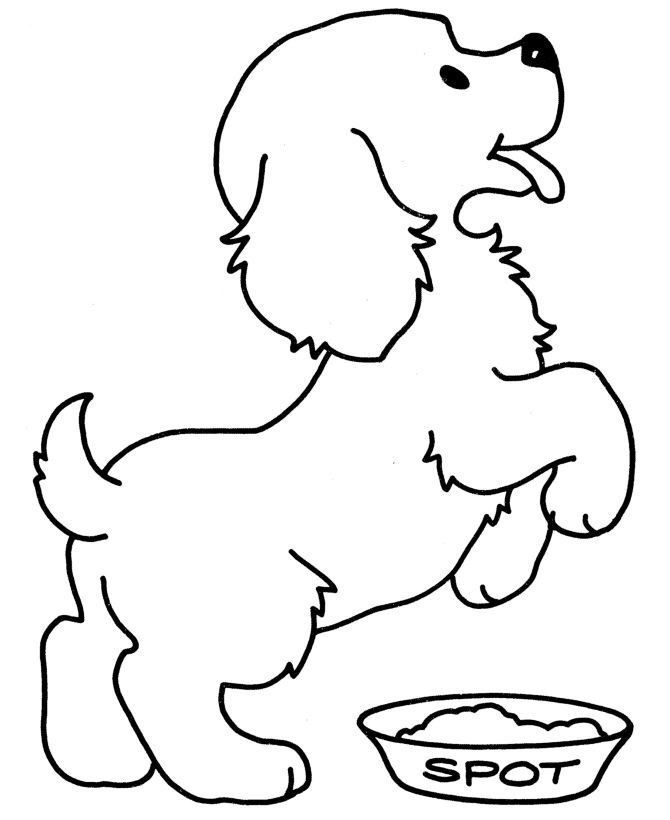 puppy coloring page for kids 2019 malvorlagen zum