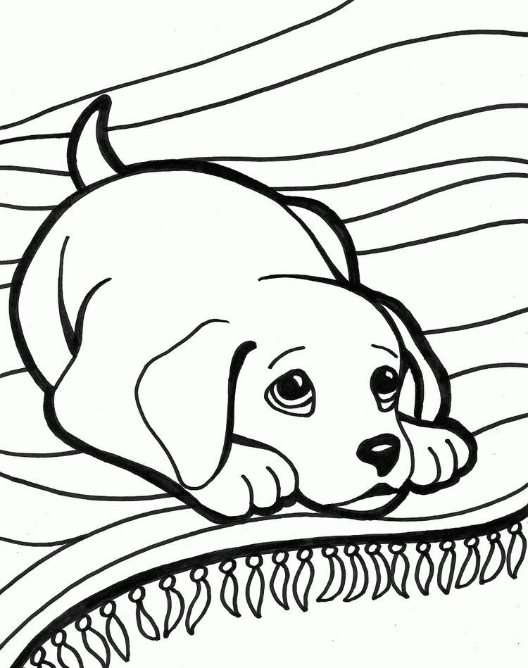 puppy coloring page for kids 2019 zeichnung puppy