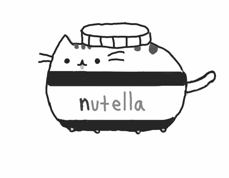pusheen coloring pages print them online for free