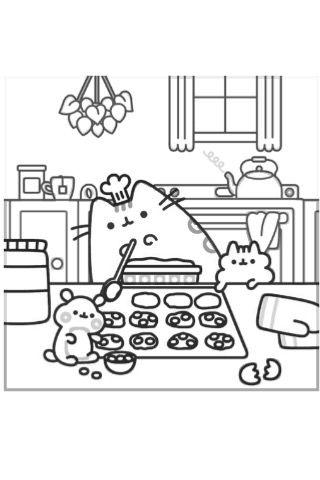 pusheen pusheen coloring pages ausmalbilder ausmalen und
