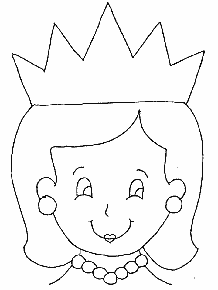queen 4 characters printable coloring pages