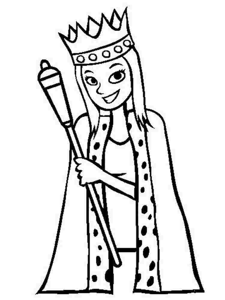 queen printable coloring page queen coloring pages free