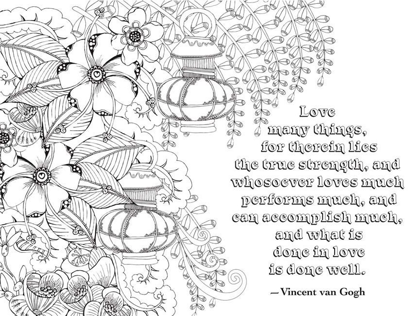 quote coloring pages for adults and teens best coloring