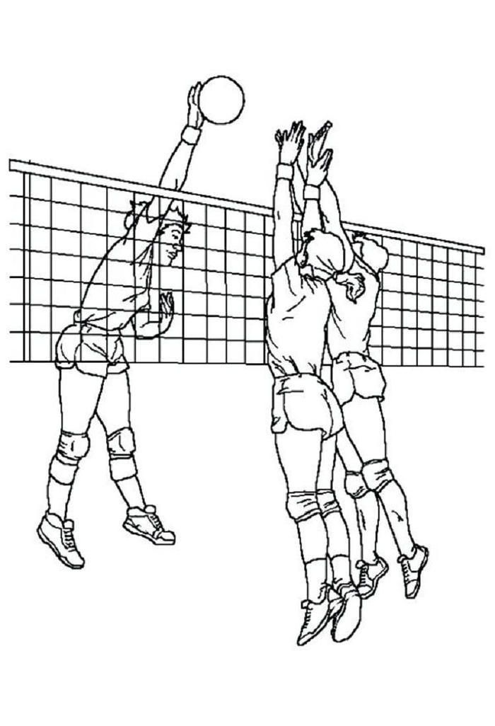 read morecool volleyball coloring pages coloring pages for