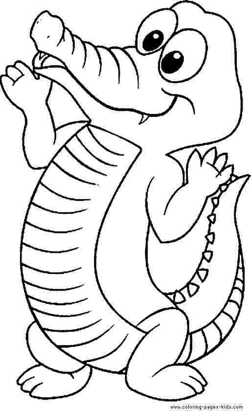 realistic alligator coloring pages huangfei