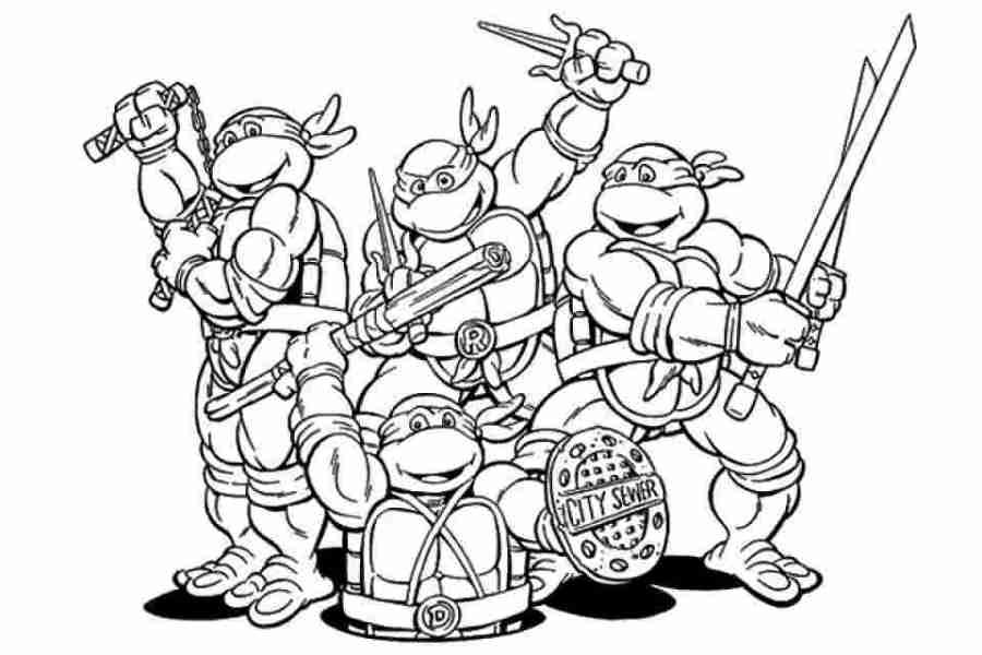 red ninja turtle coloring pages get this tmnt ninja turtles