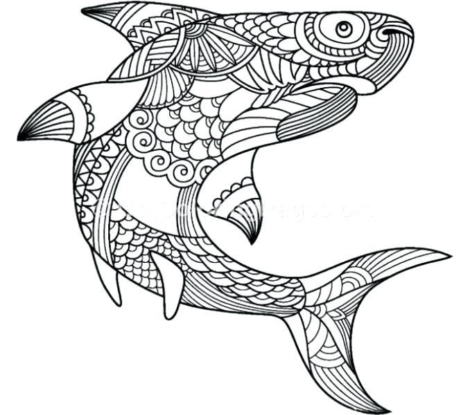 reef shark coloring pages dopravnisystem