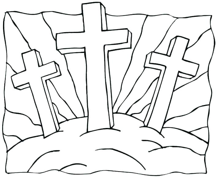 religious cross coloring pages at getdrawings free for