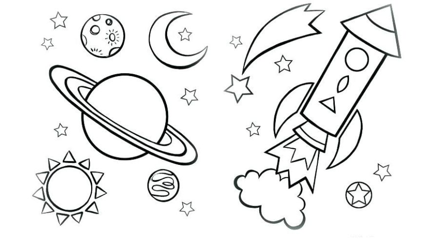 rocket coloring pages coloring pages printable space