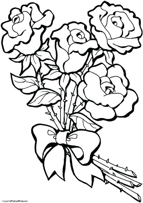 rose coloring pages uwcoalition