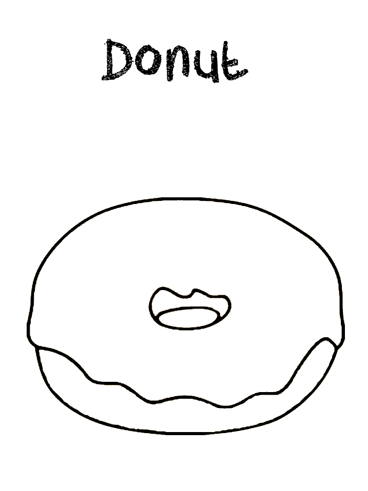 round donut coloring pages donut coloring page coloring