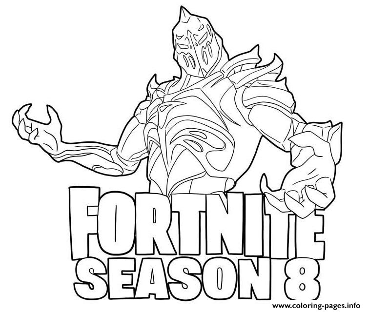 ruin and season 8 logo fortnite coloring pages printable