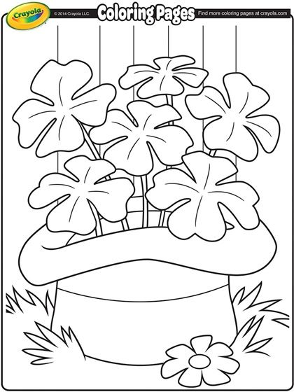 saint patricks day coloring page from crayola your