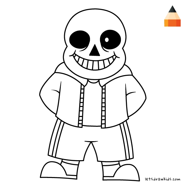 sans and papyrus coloring pages at getdrawings free