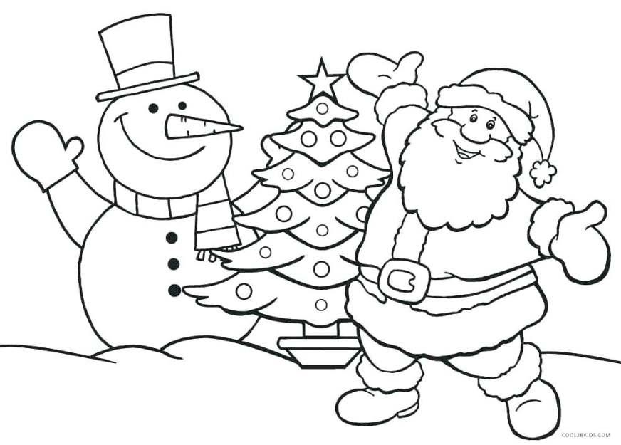 santa claus coloring images hottestnews