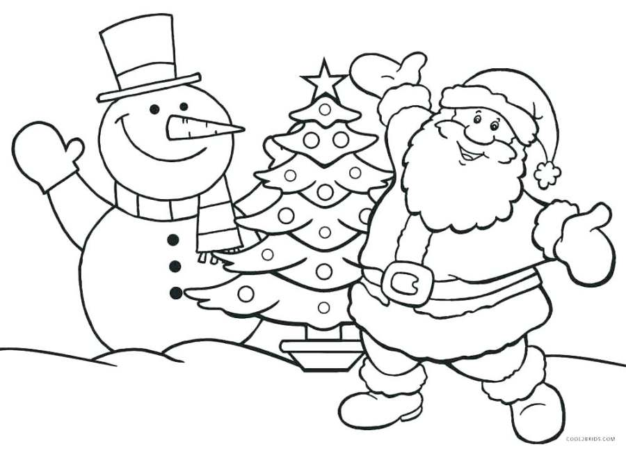 santa claus coloring images hottestnews