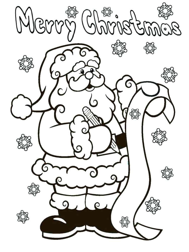 santa claus coloring pages online at getdrawings free