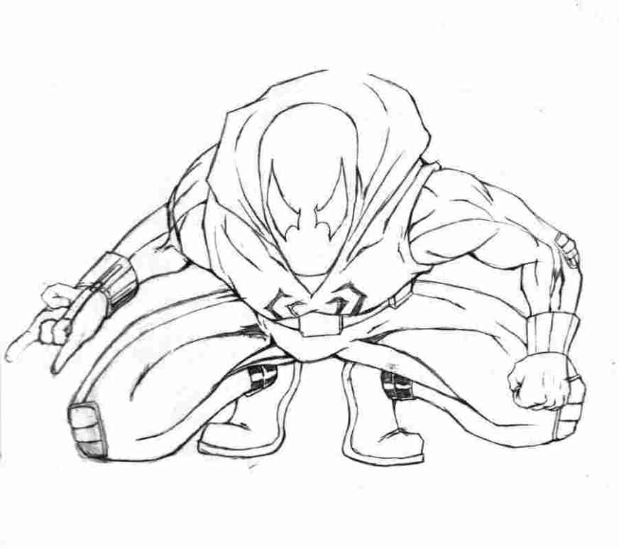 scarlet spiderman coloring pages scarlet spider coloring