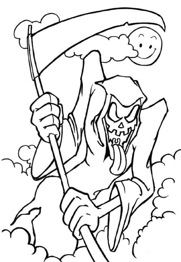 scary coloring pages for s high quality coloring pages