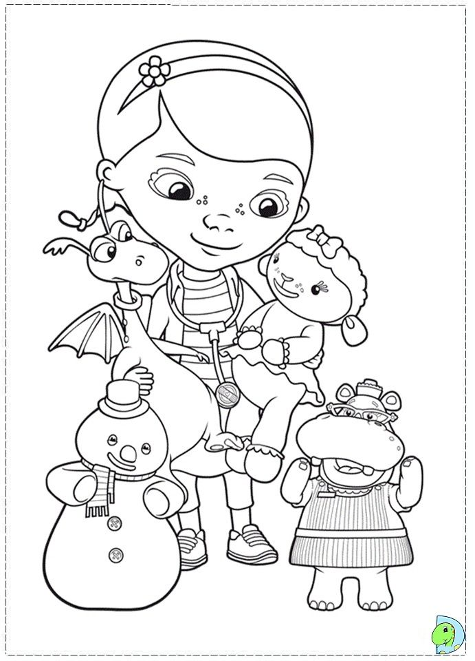 search results doc mcstuffin coloring page malen