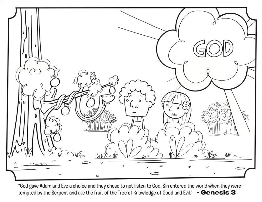 serpent bible coloring pages whats in the bible