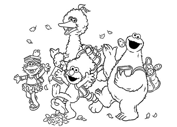 sesame street cookie monster coloring pages coloring sky