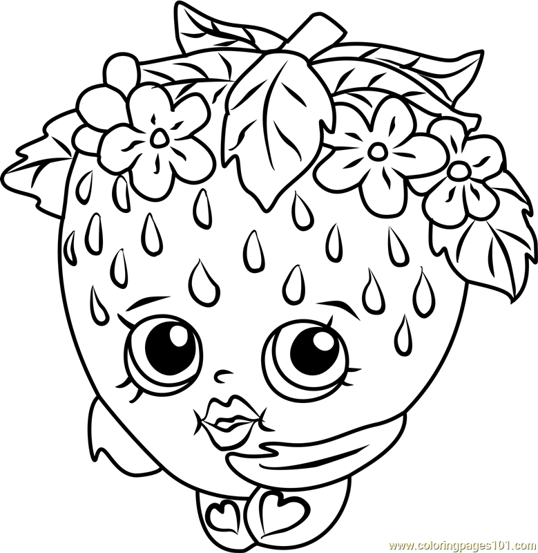 shopkins coloring in pages